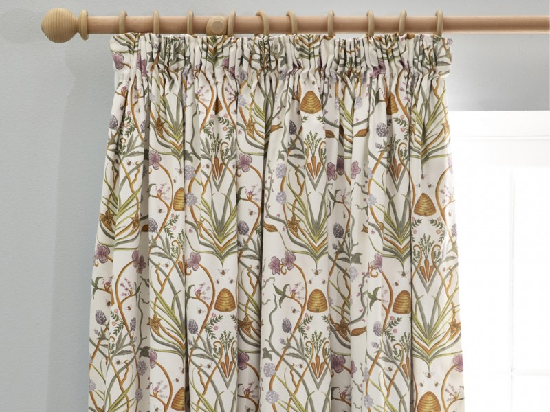 The Chateau by Angel Strawbridge Potagerie Cream Curtains & Tie Backs
