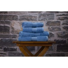 Deyongs 1846 Bliss Pima 650gsm Cotton Cobalt Towel and Mat Range