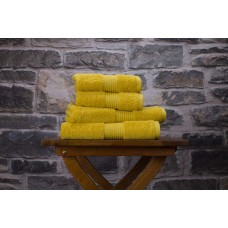 Deyongs 1846 Bliss Pima 650gsm Cotton Saffron Towel and Mat Range