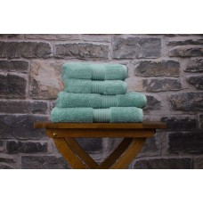 Deyongs 1846 Bliss Pima 650gsm Cotton Spearmint Towel and Mat Range