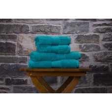Deyongs 1846 Bliss Pima 650gsm Cotton Teal Towel and Mat Range