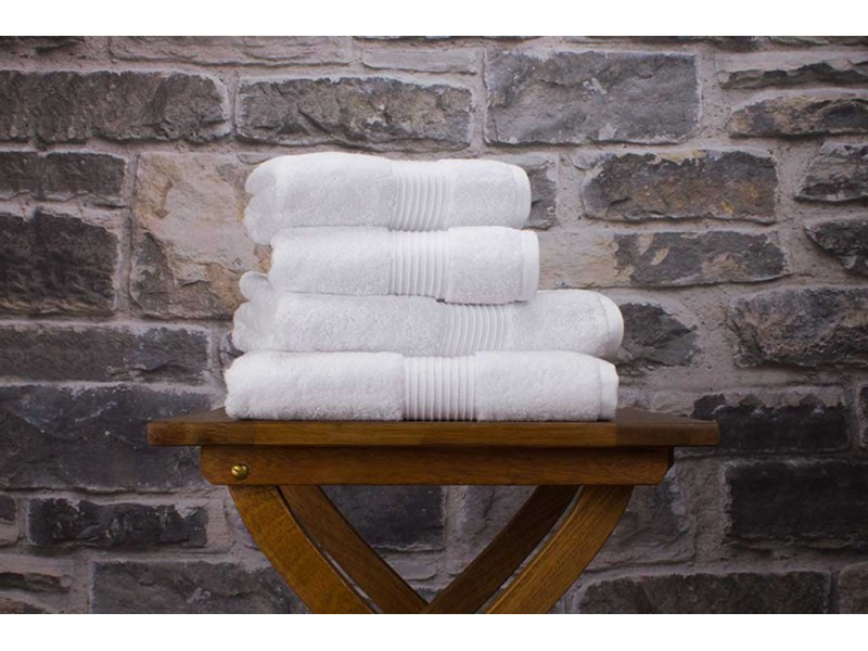 Deyongs 1846 Bliss Pima 650gsm Cotton White Towel and Mat Range