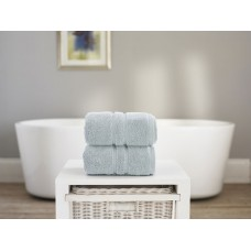 The Lyndon Company Chelsea Zero Twist Seafoam Cotton Towels
