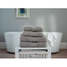 The Lyndon Company Cleopatra Egyptian Cotton Light Grey Towels