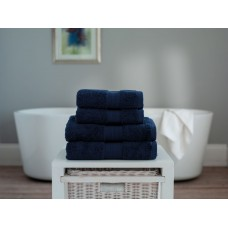 The Lyndon Company Cleopatra Egyptian Cotton Navy Towels