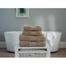 The Lyndon Company Cleopatra Egyptian Cotton Nutmeg Towels