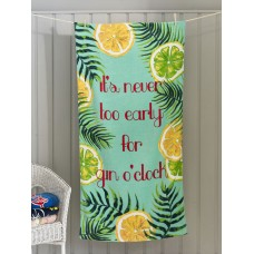 Deyongs 1846 Gin o Clock Valour Beach Towel