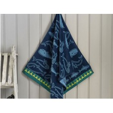 Deyongs 1846 Alaska Egyptian Cotton  Jacquard Valour Beach Towel
