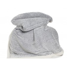 Deyongs 1846 Arbroath Charcoal Faux Fur Throw