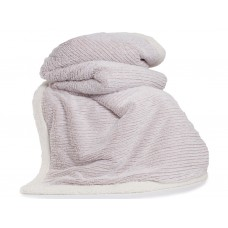 Deyongs 1846 Arbroath Pink Faux Fur Throw