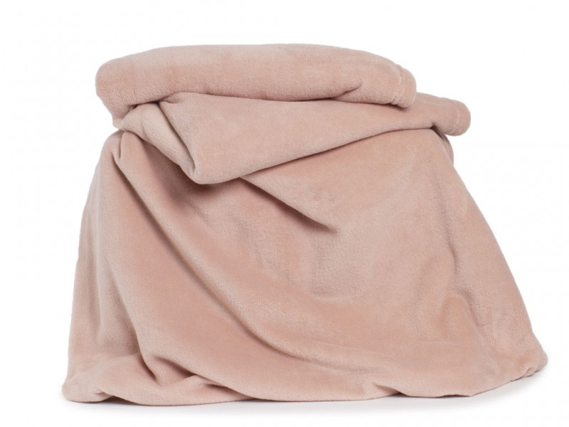 Deyongs 1846 Large Snuggle Touch Pink Throw