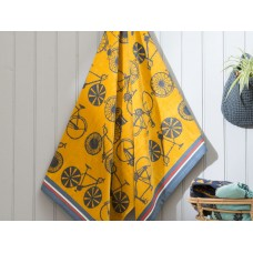 Deyongs 1846 Free Wheel Egyptian Cotton  Jacquard Valour Beach Towel