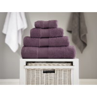 Deyongs 1846 Bliss Pima 650gsm Cotton Grape Towel and Mat Range