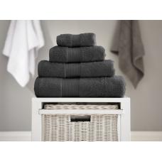 Deyongs 1846 Bliss Pima 650gsm Cotton Carbon Towel and Mat Range