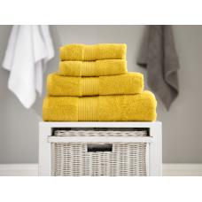 Deyongs 1846 Bliss Pima 650gsm Cotton Mustard Towel and Mat Range