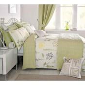 Dreams n Drapes Botanique Green Duvet Cover Sets and Coordinates