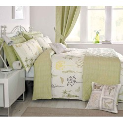 Dreams n Drapes Botanique Green Duvet Cover Sets and Coordinates