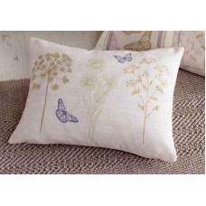 Dreams n Drapes Botanique Green Boudoir Cushion