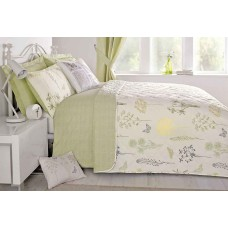 Dreams n Drapes Botanique Green Bedspread