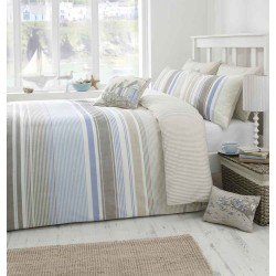 Dreams n Drapes Falmouth Blue Duvet Cover Sets and Coordinates