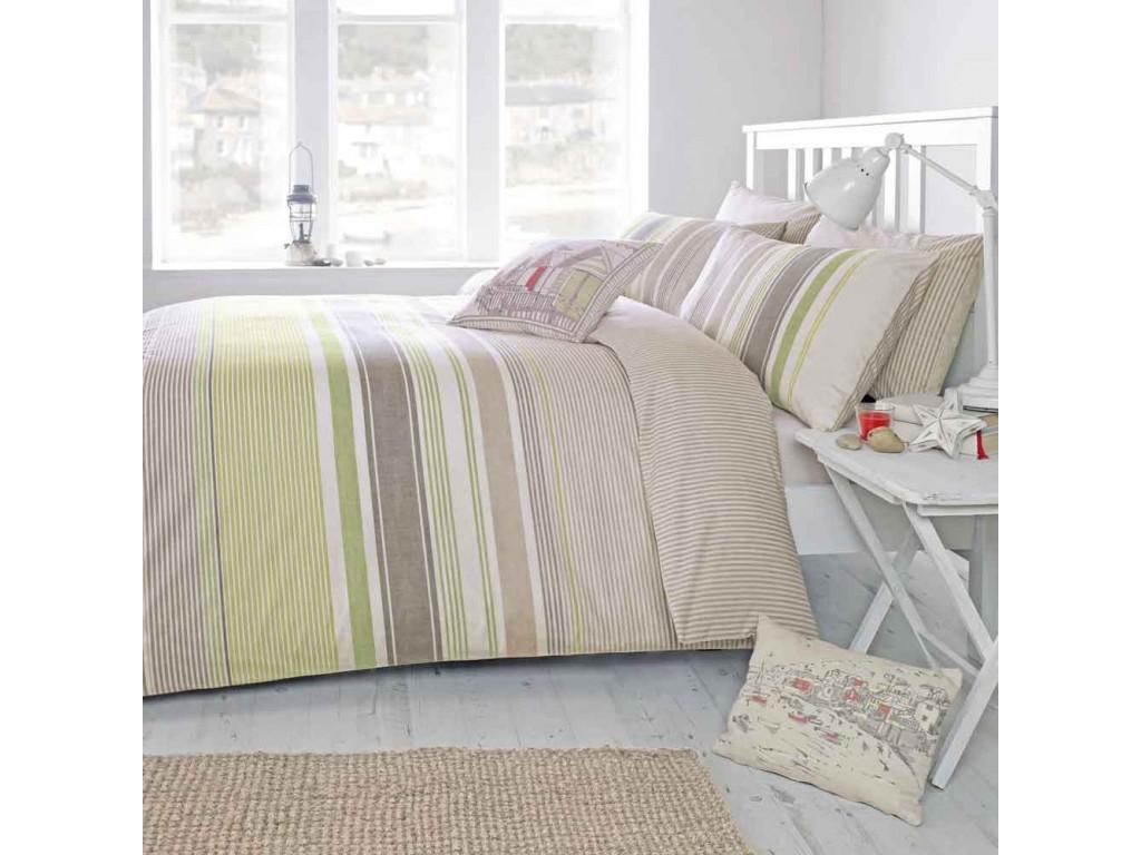 Dreams N Drapes Falmouth Green Duvet Cover Sets