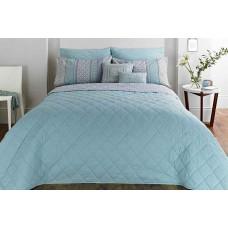 Dreams n Drapes Kalisha Blue Bedspread