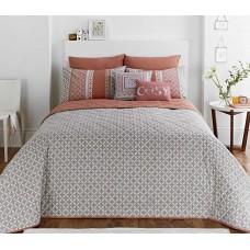 Dreams n Drapes Kalisha Spice Bedspread