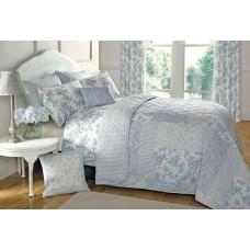 Dreams n Drapes Malton Blue Bedspread