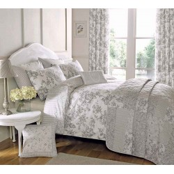 Dreams n Drapes Malton Slate Duvet Cover Sets and Coordinates
