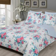 Driftwood Bouquet Rose Duvet Cover Sets and Cushion