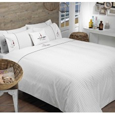 Driftwood Nautical Embroidered Duvet Cover Sets and Cushion