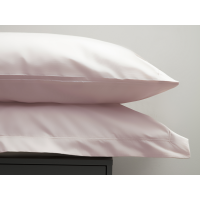 Belledorm 200 Thread Count Egyptian Cotton Pillowcases In Powder Pink