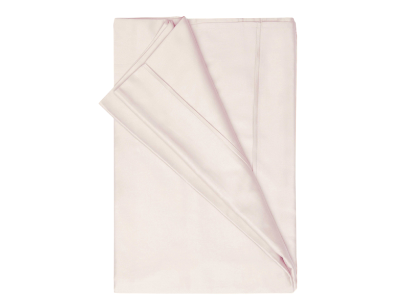 Belledorm 200 Thread Count Egyptian Cotton Flat Sheets In Powder Pink