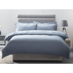 Belledorm 200 Thread Count Egyptian Cotton Duvet Covers In Storm
