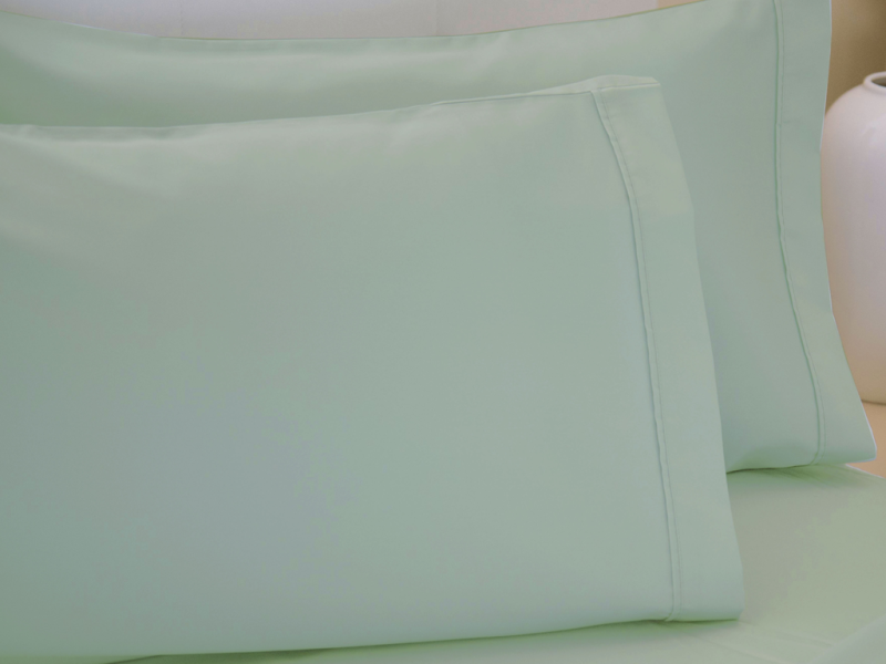 Belledorm 200 Thread Count Egyptian Cotton Pillowcases In Thyme