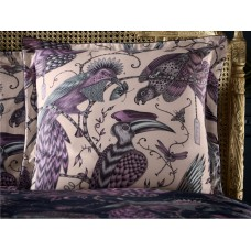 Emma J Shipley New Audubon Pink Square Oxford Pillowcase
