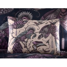 Emma J Shipley New Audubon Pink Boudoir Pillowcase