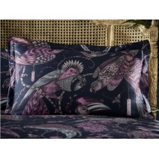 Emma J Shipley New Audubon Navy Oxford Pillowcase