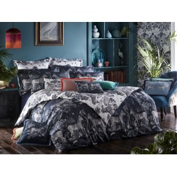 Emma J Shipley New Lost World Navy/White Bedlinen and Coordinates