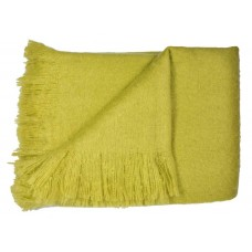 Dreams n Drapes Alexa Lime Throw
