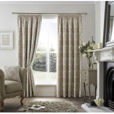 Curtina Pencil Pleat Ashford Natural Curtains and Cushions