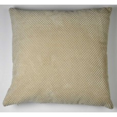 Dreams n Drapes Chenille Spot Cream Cushion