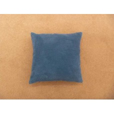 Dreams n Drapes Chenille Spot Teal Cushion