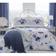 Dreams n Drapes Celestine Blue Duvet Cover Sets