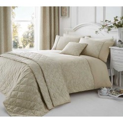 Serene Ebony Natural Duvet Cover Sets and Coordinates