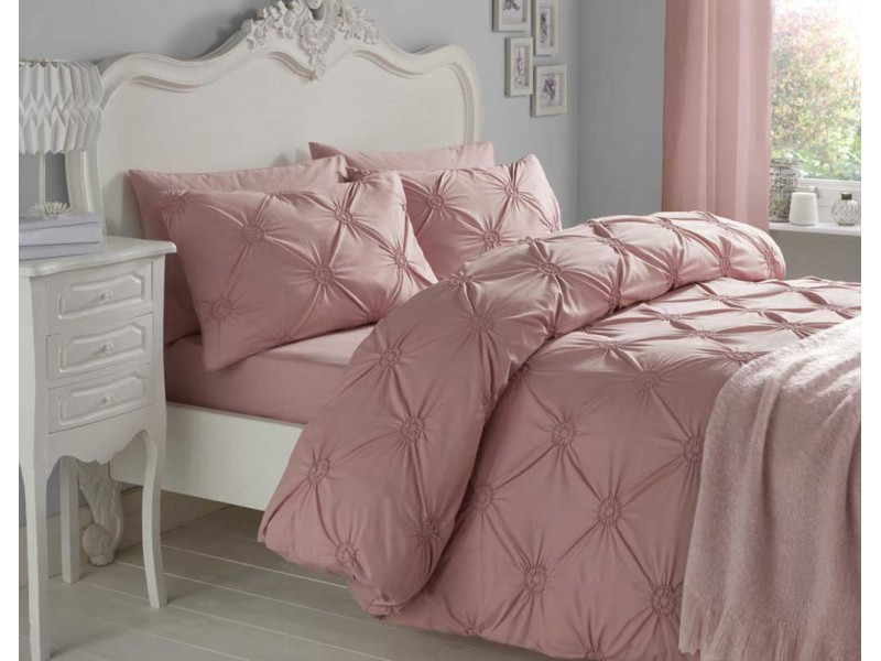 Signature Elissa Blush Duvet Cover Sets