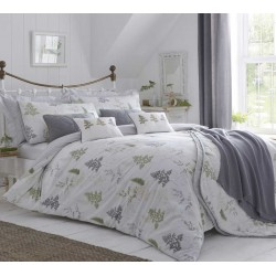 Dreams n Drapes Linden Green Fern Duvet Cover Sets and Coordinates