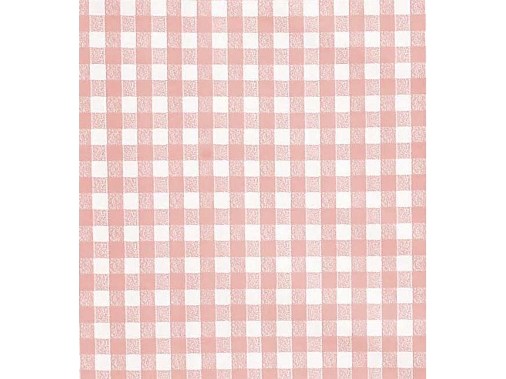 le chateau oil cloth table linen rose check. Black Bedroom Furniture Sets. Home Design Ideas