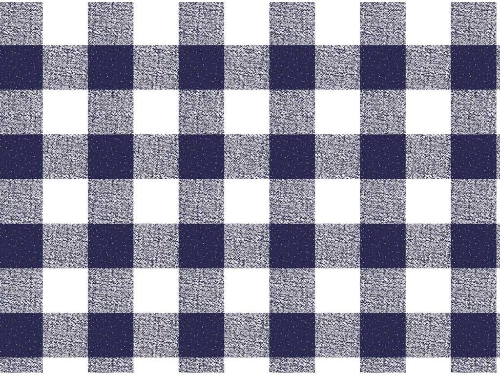le chateau oil cloth table linen navy gingham. Black Bedroom Furniture Sets. Home Design Ideas