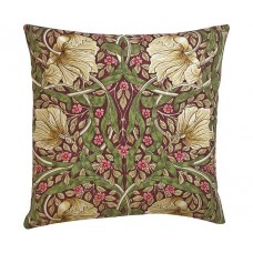 William Morris Pimpernel Aubergine Cushions